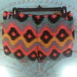 😁NWT RACHEL RACHEL ROY ikat Aztec Shorts